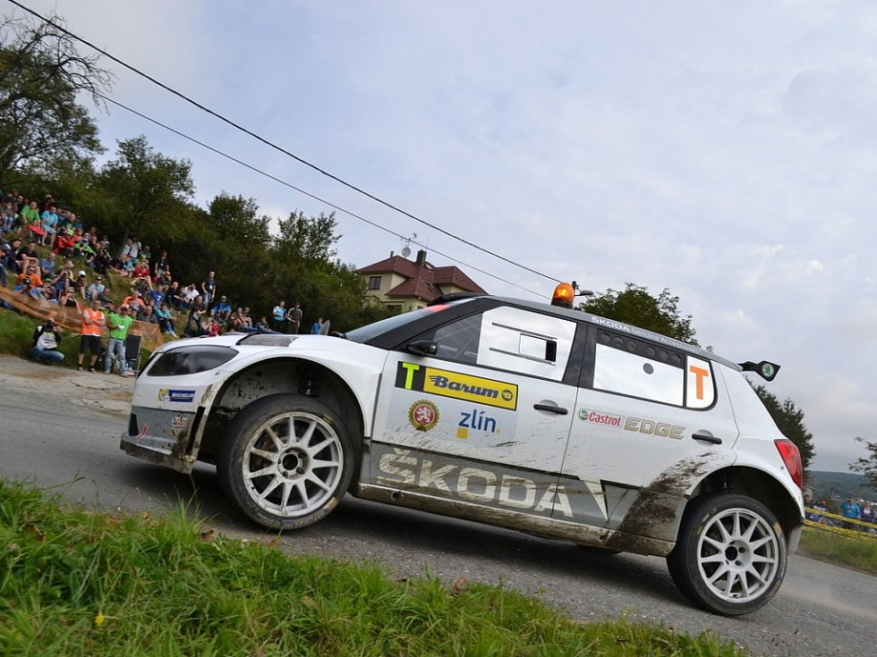 Barum Czech Rally Zlín - 11 RZ Pindula