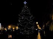 Vánoční strom Kroměříž