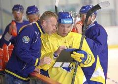 Extraligoví hokejisté Aukro Berani Zlín zahájili přípravu na ledě
