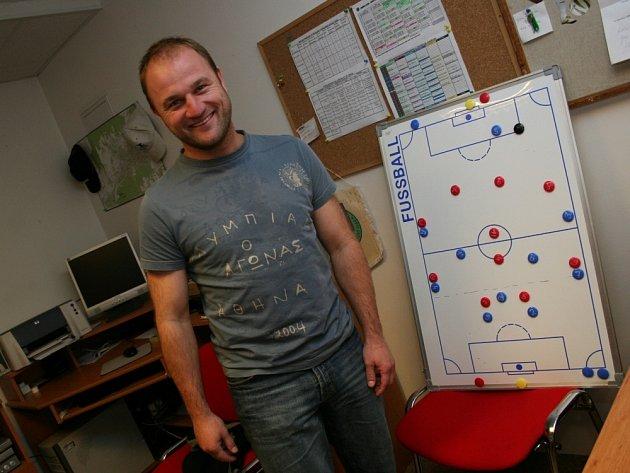 ZŮSTANE VE ZLÍNĚ. Čtyřicetiletý trenér Pavel Hoftych prodlouží smlouvu s Tescomou.
