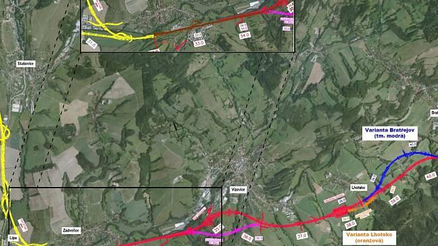 Mapa variant R49