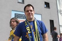 Tomáš Vitásek, prezident HFC Zlín (fanklub hokejistů).
