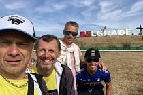 triatlonisté Titan Trilife Zlín v polovičním Ironmanu v Srbsku 2019