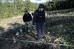 V úterý 13. října loňského roku skončil zásah v bývalých muničních skladech ve Vrběticích.