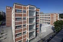 Budova zlínského Baťova institutu