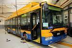 Dopravní společnost Zlín-Otrokovice. Trolejbus SOR CITY TNB 12