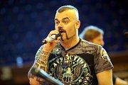 Masters Of Rock 2017. Zkouška skupiny Sabaton s filharmonií B. Martinů