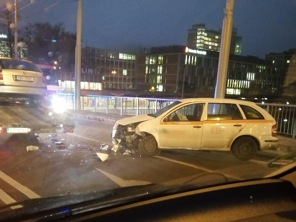 Dopravní nehoda Zlín, 22. 1. 2020