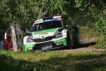Barum Rally - sobota 27. 8.,  RZ 2 Březová, RZ5 Semetín, RZ 6