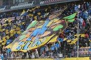 Zápas Evropské ligy FC Zlín vs. FC Sheriff na Andrově stadionu v Olomouci