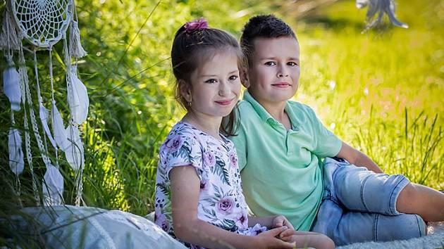 Adélka a Tadeáš Petříkovi