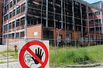 103. budova v areálu Svit – starší část bude zbourána