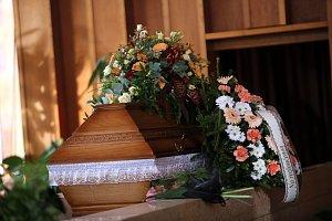 Pohřeb Karla  Pavlištíka v krematoriu na Lesním hřbitově ve Zlíně