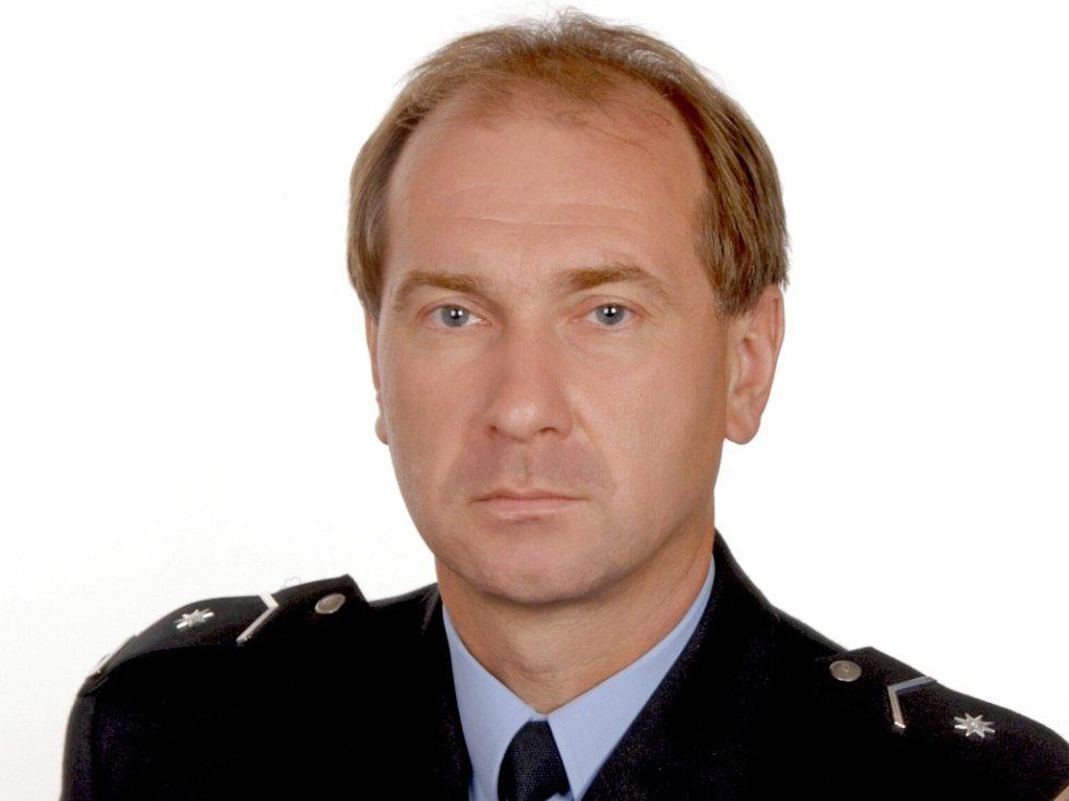 Bronislav Šabršula, vedoucí policejního územního odboru vnější služby.