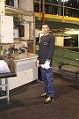 Den otevřených dveří v Continental Barum - Vladislav Strik. Pracuje v Barumu již sedm let. Obsluhuje míchací linku.