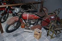 Muzeum v Otrokovicích je plné Harley Davidsonů