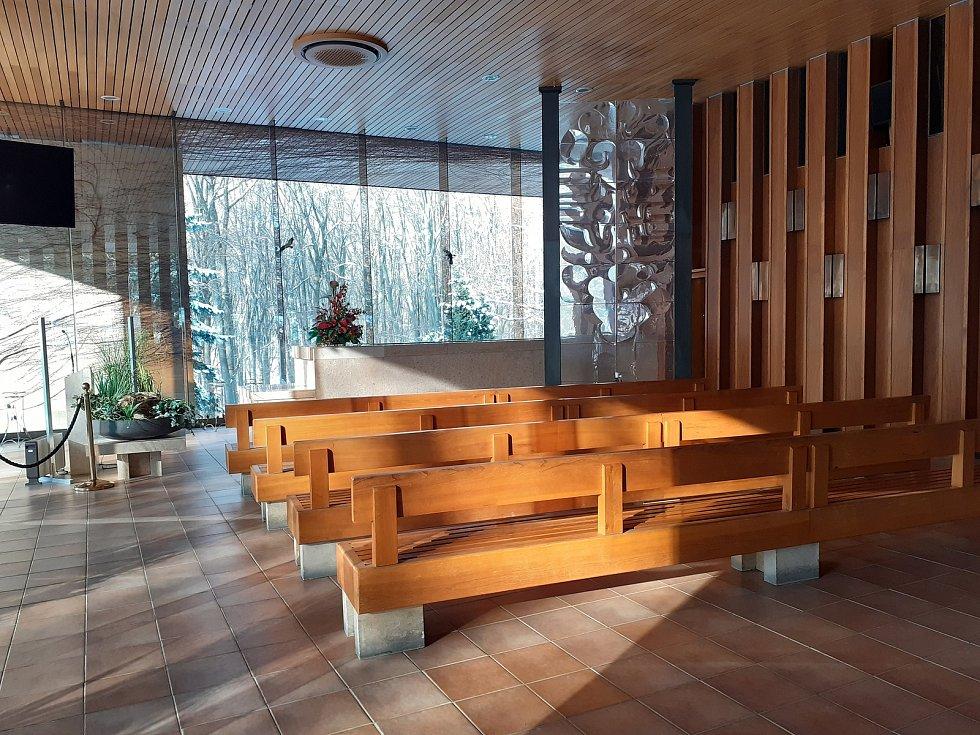 Obřadní síň a Lesní hřbitov ve Zlíně