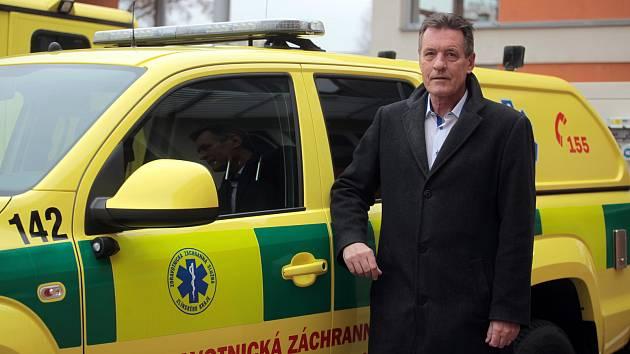 Josef Valenta, ředitel ZZS ZK.