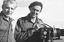 Miroslav Zikmund (vpravo) a Jiří Hanzelka na svých cestách