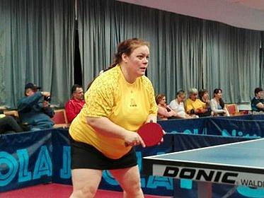 stolní tenistka Tatiana Téglová