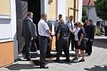 Pohřeb významného moravského agronoma a politika Františka Čuby se konal  v kostele Narození sv. Jana Křtitele ve Slušovicích ve středu 3. července 2019. Na poslední cestě zesnulého doprovodil i prezident Miloš Zeman, který byl jeho dlouholetým přítelem.
