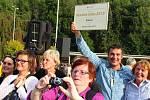 V sobotu 19. září 2015 se v areálu luhačovických lázní konalo vyhlášení výsledků Vesnice roku 2015. První příčku získala obec Krásná na Chebsku.