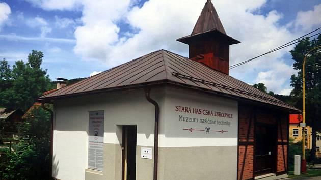 Výstava  Má vlast cestami proměn 2017 v Muzeu jihovýchodní Moravy ve Zlíně. Zděchov, stará hasičská zbrojnice