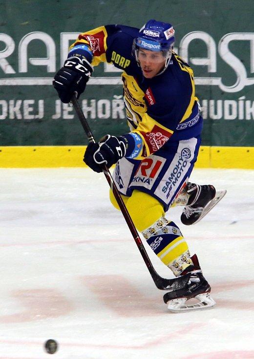 hokej PSG Berani Zlín - BK Mladá Boleslav. Tomáš Fořt