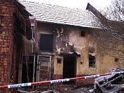 ve Zlíně uhořeli při požáru rodinného domu dva lidé