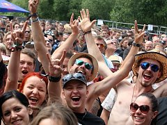 Festival Masters of rock  2015 ve Vizovicích.