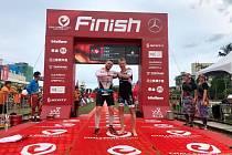 Petr Vabroušek vybojoval šesté místo v Ironmanu v Taiwanu.