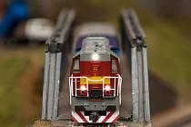 Železniční modeláři. Jejich nejlepší modely se účastní soutěží