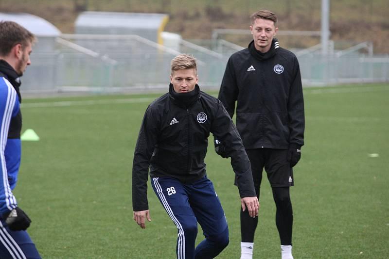 Fotbalisté Zlína po krátké vánoční přestávce v pondělí  zahájili specifickou dvoutýdenní zimní přípravu. Na snímku je Václav Procházka.