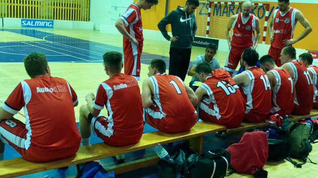 semifinále 2. basketbalové ligy Valašské Meziříčí - Opava