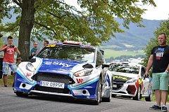 Test před Barum Rally ve Vizovicích