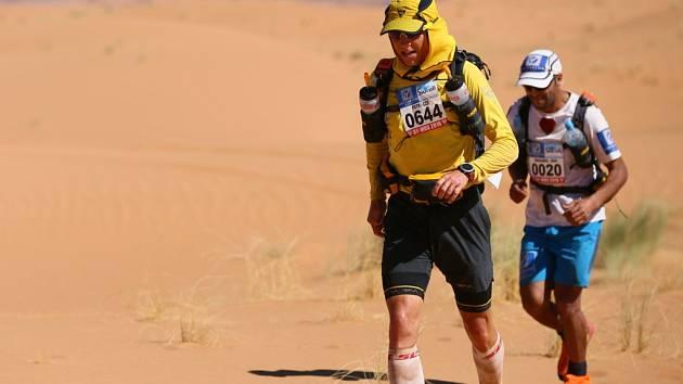 Petr Vabroušek na Marathonu Des Sables. Ilustrační foto