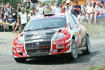 Jaroslav Orsák sedlal na Barumce Fiat Grande Punto, s kterým dojel jedenáctý. Teď přesedlá za volant Škody.