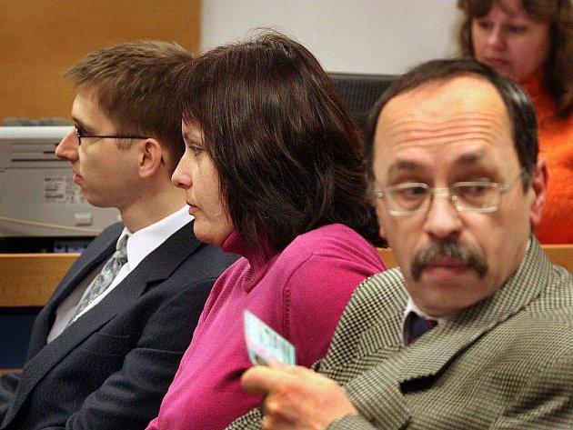 Případ čtveřice lékařů Krajské nemocnice Tomáše Bati Zlín u Okresního soudu ve Zlíně.