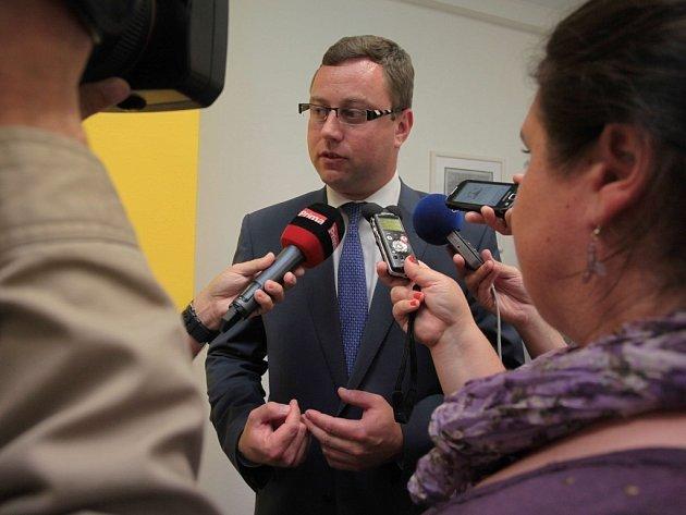 Tiskový briefing Finanční správy ČR. Na snímku Pavel Zeman, nejvyšší státní zástupce.