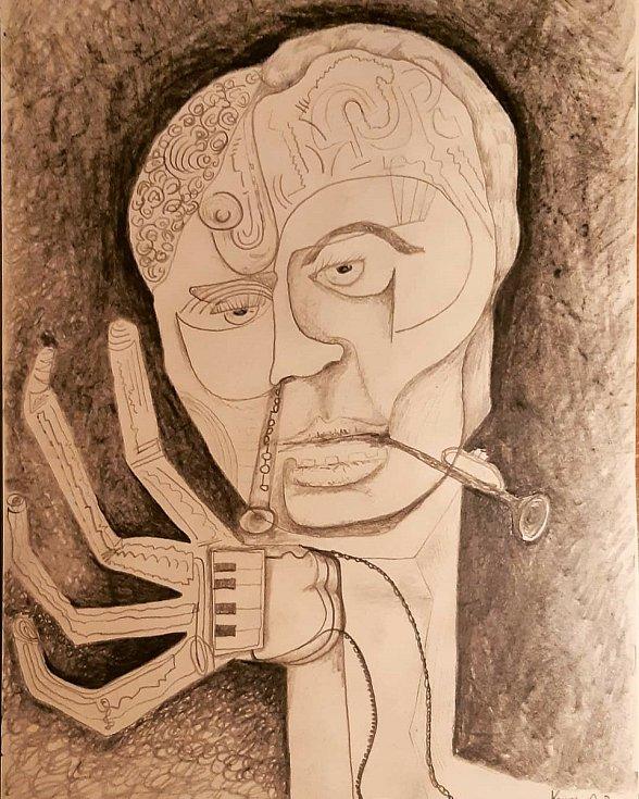 Talentovaný umělec z Vizovic Josef Pšenčík a jeho díla