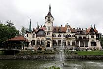 Dominantou zlínské zoologické zahrady je zámek, který svou současnou podobu získal v 19. století.