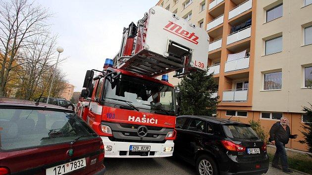 Kondiční cvičení hasičů ve Zlíně