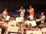 Mezinárodní dirigentské kurzy 2015 s Filharmonií B. Martinů ve Zlíně.
