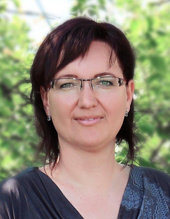 Andrea Čalová, ředitelka základní školy v Jasenné.