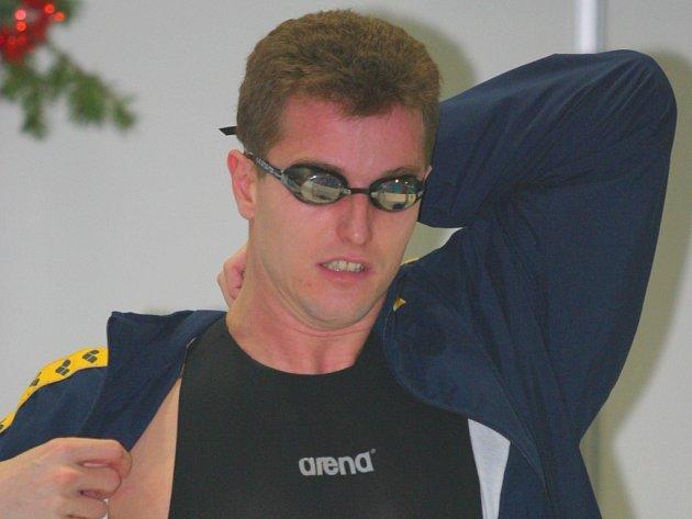 Zlínský plavec Daniel Málek.