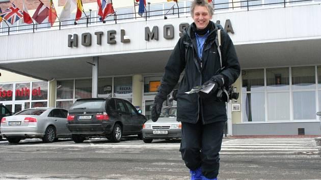 Švýcarský umělec, fotograf a spisovatel Marcus Zohner.