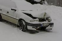 Dopravní nehoda v Držkové