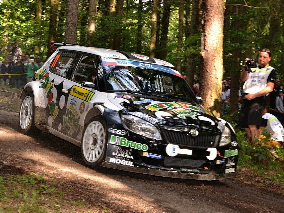 Barum Czech Rally Zlín: RZ 7 Maják