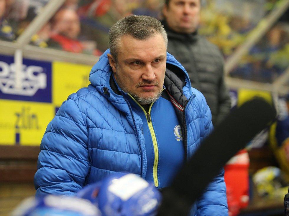 PSG Berani Zlín  - BK Mladá Boleslav - čtvrtý zápas série. Martin Hamrlík