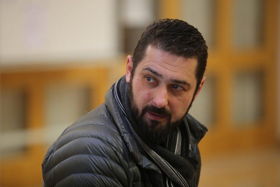 Roman Čechmánek u soudu ve Zlíně.